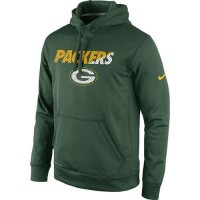 Green Bay Packers Nike Kick Off Staff Performance Pullover Hoodie Green