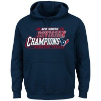 Houston Texans Critical Victory Pullover Hoodie Blue