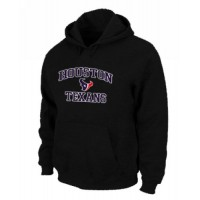 Houston Texans Heart & Soul Pullover Hoodie Black