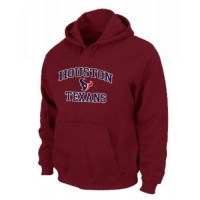 Houston Texans Heart & Soul Pullover Hoodie Red