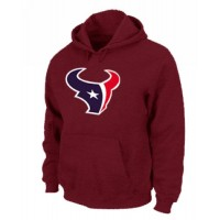 Houston Texans Logo Pullover Hoodie Red