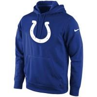 Indianapolis Colts Nike KO Logo Essential Hoodie Royal Blue