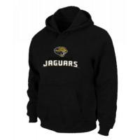 Jacksonville Jaguars Authentic Logo Pullover Hoodie Black