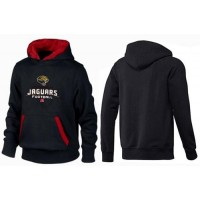 Jacksonville Jaguars Critical Victory Pullover Hoodie Black & Red