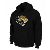 Jacksonville Jaguars Logo Pullover Hoodie Black