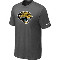 Jacksonville Jaguars Sideline Legend Authentic Logo Dri-FIT Nike NFL T-Shirt Crow Grey