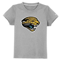 Jacksonville Jaguars Sideline Legend Authentic Logo Youth T-Shirt Grey