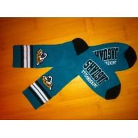 Jacksonville Jaguars Team Logo Teal NFL Socks