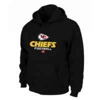 Kansas City Chiefs Critical Victory Pullover Hoodie Black