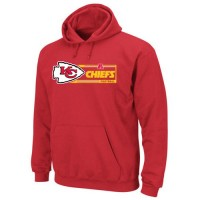 Kansas City Chiefs Majestic Critical Victory VII Pullover Hoodie Red