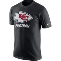 Kansas City Chiefs Nike Facility T-Shirt Anthracite