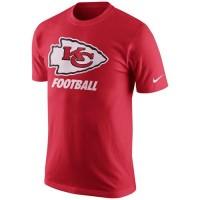 Kansas City Chiefs Nike Facility T-Shirt Red
