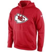 Kansas City Chiefs Nike KO Logo Essential Hoodie Red