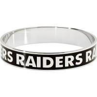 LogoArt Oakland Raiders Enamel Team Bracelet