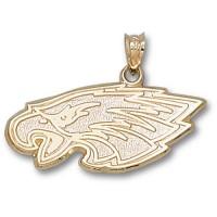 LogoArt Philadelphia Eagles Gold Pendant