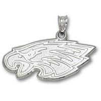 LogoArt Philadelphia Eagles Sterling Silver Pendant