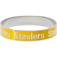LogoArt Pittsburgh Steelers Enamel Team Bracelet