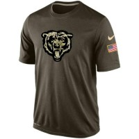 Men's Chicago Bears Salute To Service Nike Dri-FIT T-Shirt