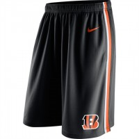 Men's Cincinnati Bengals Black Epic Team Logo Shorts