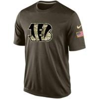 Men's Cincinnati Bengals Salute To Service Nike Dri-FIT T-Shirt