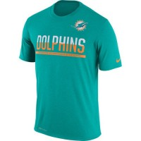 Men's Miami Dolphins Nike Practice Legend Performance T-Shirt Green