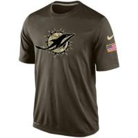 Men's Miami Dolphins Salute To Service Nike Dri-FIT T-Shirt