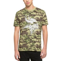 Men's Minnesota Vikings '47 Camo Alpha T-Shirt