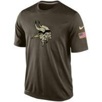 Men's Minnesota Vikings Salute To Service Nike Dri-FIT T-Shirt