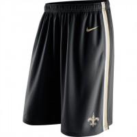 Men's New Orleans Saints Black Epic Team Logo Shorts