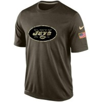 Men's New York Jets Salute To Service Nike Dri-FIT T-Shirt