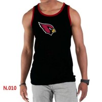 Men's Nike NFL Arizona Cardinals Sideline Legend Authentic Logo Tank Top Black