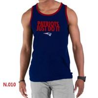 Men's Nike NFL New England Patriots Sideline Legend Authentic Logo Tank Top Dark Blue_1