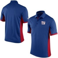 Men's Nike NFL New York Giants Royal Team Issue Performance Polo