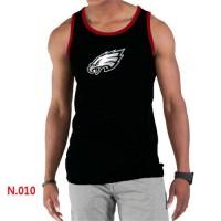 Men's Nike NFL Philadelphia Eagles Sideline Legend Authentic Logo Tank Top Black_2