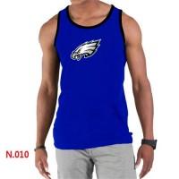 Men's Nike NFL Philadelphia Eagles Sideline Legend Authentic Logo Tank Top Blue