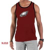 Men's Nike NFL Philadelphia Eagles Sideline Legend Authentic Logo Tank Top Red