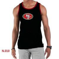 Men's Nike NFL San Francisco 49ers Sideline Legend Authentic Logo Tank Top Black_2