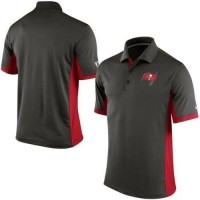 Men's Nike NFL Tampa Bay Buccaneers Pewter Team Issue Performance Polo