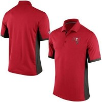 Men's Nike NFL Tampa Bay Buccaneers Red Team Issue Performance Polo