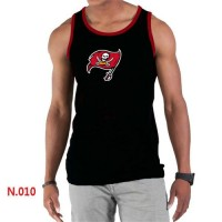 Men's Nike NFL Tampa Bay Buccaneers Sideline Legend Authentic Logo Tank Top Black