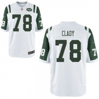 Men's Nike New York Jets #78 Ryan Clady White Stitched NFL Game Jersey