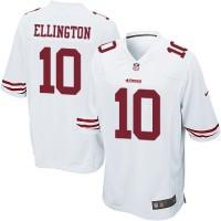 Men's Nike San Francisco 49ers #10 Bruce Ellington Game White NFL Jersey
