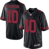 Men's Nike San Francisco 49ers #10 Bruce Ellington Limited Black NFL Jersey