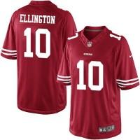 Men's Nike San Francisco 49ers #10 Bruce Ellington Limited Red Team Color NFL Jersey