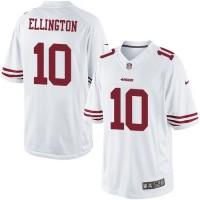 Men's Nike San Francisco 49ers #10 Bruce Ellington Limited White NFL Jersey