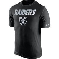 Men's Oakland Raiders Nike Black Legend Staff Practice Performance T-Shirt