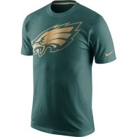 Men's Philadelphia Eagles Nike Midnight Green Championship Drive Gold Collection Performance T-Shirt