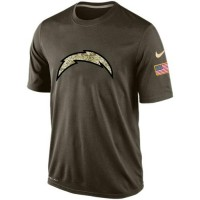 Men's San Diego Chargers Salute To Service Nike Dri-FIT T-Shirt