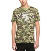 Men's San Francisco 49ers '47 Camo Alpha T-Shirt