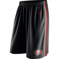 Men's San Francisco 49ers Black Epic Team Logo Shorts